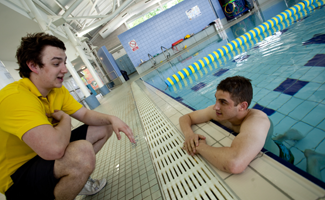 Castle pool community partnership development in social enterprise for Kingsbury swimming pool timetable